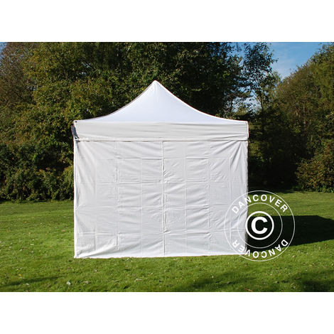 Carpa plegable Carpa Rapida FleXtents PRO 2,5x2,5m Blanco, Incl. 4 lados