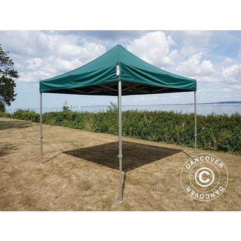 Carpa plegable Carpa Rapida FleXtents PRO 3x3m Verde