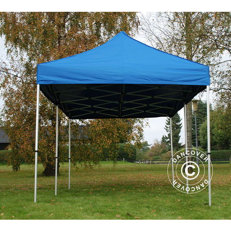 Carpa plegable Carpa Rapida FleXtents PRO 3x6m Azul