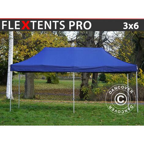 Carpa plegable Carpa Rapida FleXtents PRO 3x6m Azul oscuro