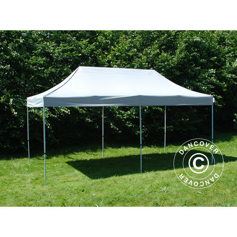 Carpa plegable Carpa Rapida FleXtents PRO 3x6m Plateado