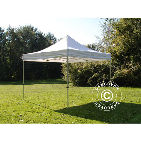 Carpa plegable Carpa Rapida FleXtents PRO 4x4m Blanco