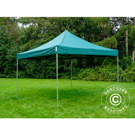 Carpa plegable Carpa Rapida FleXtents PRO 4x4m Verde