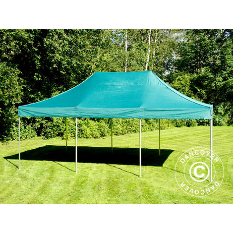 Carpa plegable Carpa Rapida FleXtents PRO 4x6m Verde