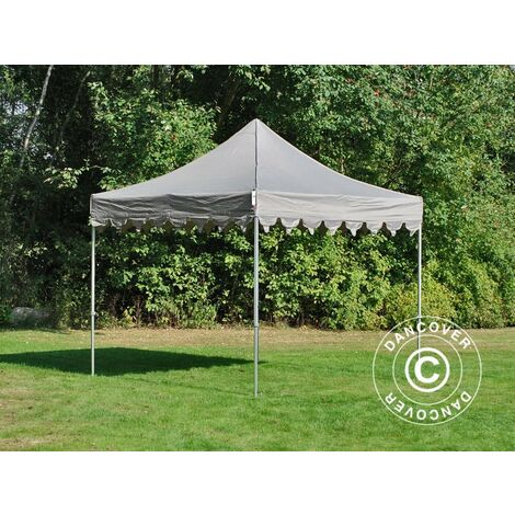 "Carpa plegable Carpa Rapida FleXtents PRO ""Morocco"" 3x3m Latte"
