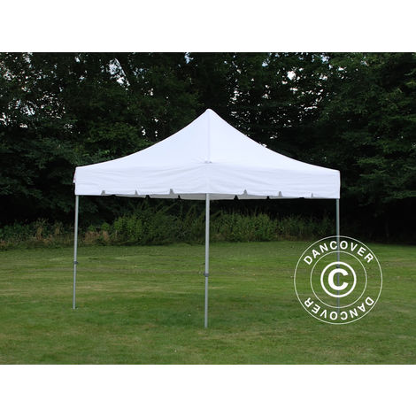 "Carpa plegable Carpa Rapida FleXtents PRO ""Peaked"" 3x3m Blanco"