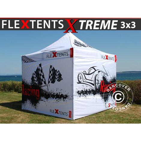 Carpa plegable Carpa Rapida FleXtents Xtreme 50 Racing 3x3m, Edición limitada