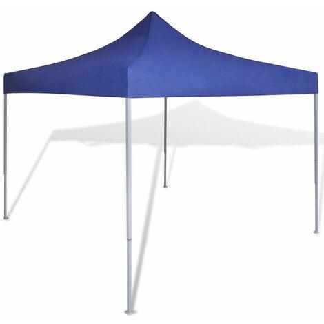 Carpa tienda plegable azul 3x3 m