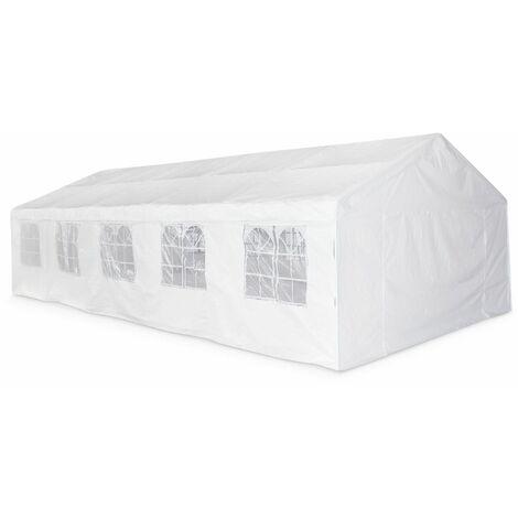 Carpas para eventos y jardin, Blanco, 5x10m | Lutecia-5x10