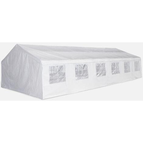 Carpas para eventos y jardín, Blanco, 6x12 m | Lutecia