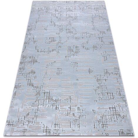 Carpet ACRYLIC DIZAYN 8840 light blue Shades of blue 80x150 cm