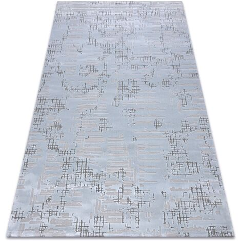 Carpet ACRYLIC DIZAYN 8840 light blue Shades of blue 80x300 cm