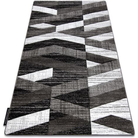 Carpet ALTER Bax Stripes grey - 200x290 cm