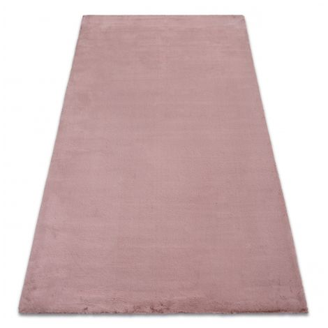 Carpet BUNNY pink IMITATION OF RABBIT FUR - 140x190 cm