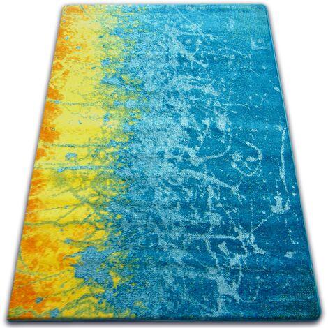 Carpet PAINT - F479 blue - 140x190 cm