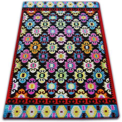 Carpet PAINT - F490 black - 200x290 cm