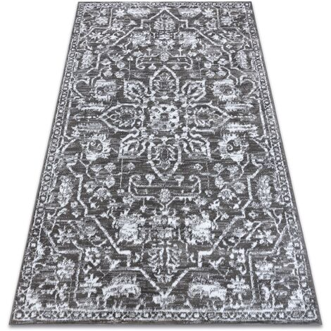 Carpet RETRO HE184 grey / cream Vintage - 120x170 cm