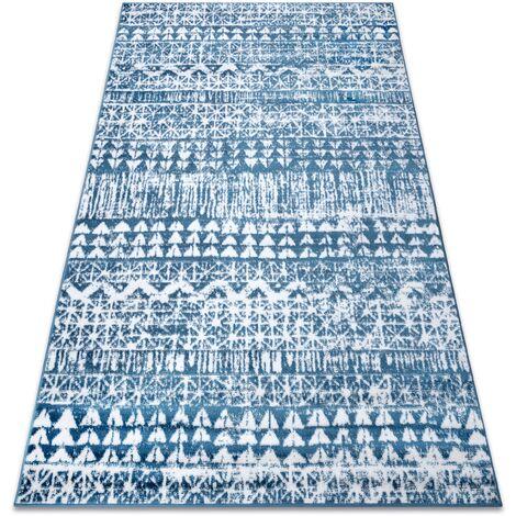Carpet RETRO HE187 blue / cream Vintage - 120x170 cm