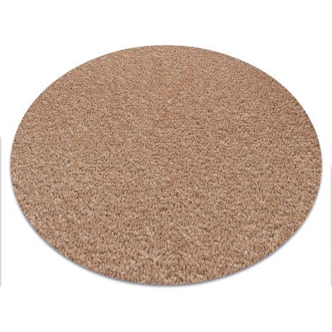 Carpet round ETON beige - circle 150 cm