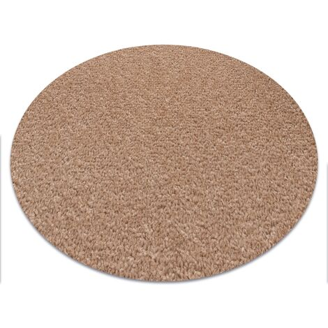 Carpet round ETON beige - circle 200 cm
