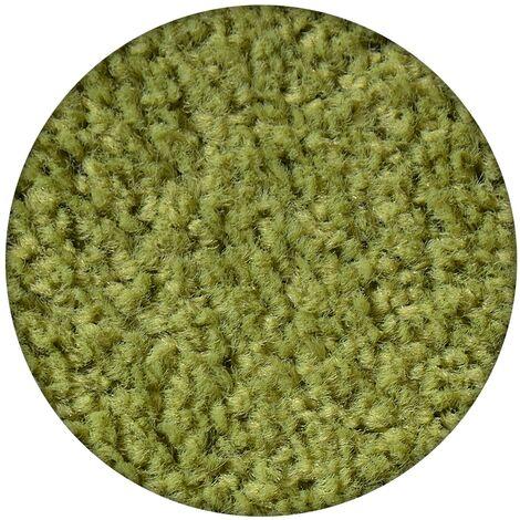 Carpet round ETON green - circle 200 cm