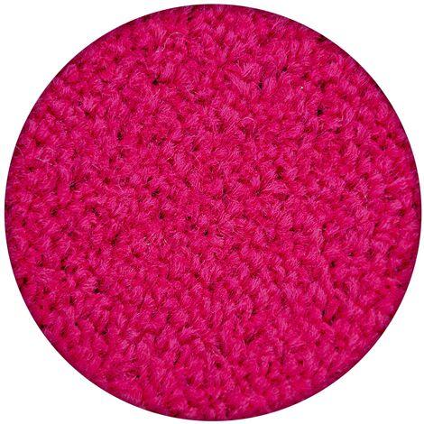 Carpet round ETON pink - circle 200 cm
