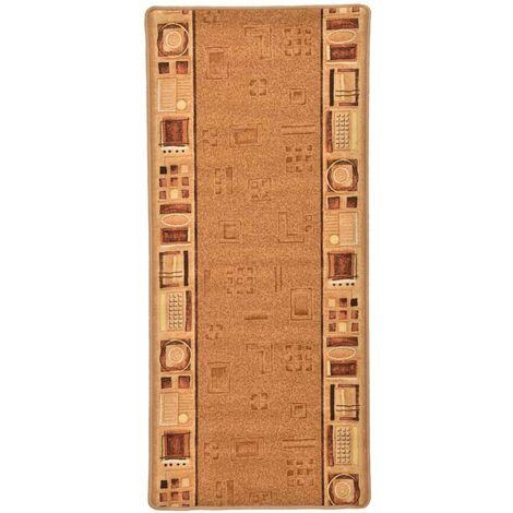 Carpet Runner Gel Backing Beige 67x200 cm - Beige