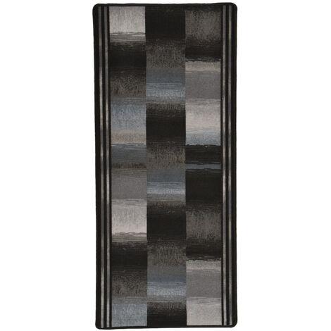 Carpet Runner Gel Backing Black 67x120 cm
