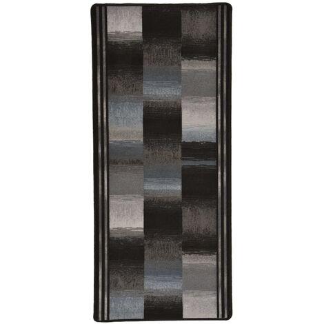Carpet Runner Gel Backing Black 67x120 cm - Blue