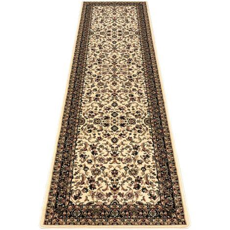 Carpet, Runner ROYAL ADR design 1745 caramel - for the corridor & hallway Shades of beige 70x250 cm