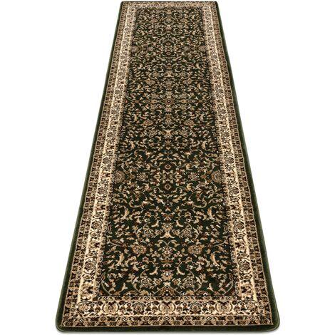 Carpet, Runner ROYAL ADR design 1745 green - for the corridor & hallway Shades of green 70x200 cm