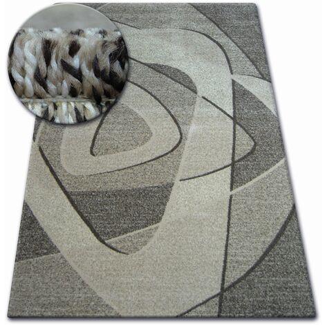 Carpet SHADOW 8594 brown / light beige - 180x270 cm