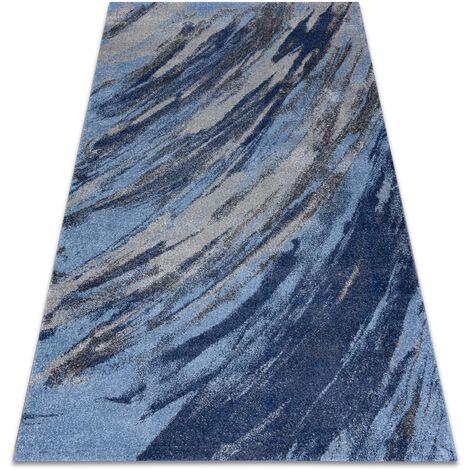 Carpet SOFT 6452 T73 68 blue / light grey Shades of blue 80x150 cm