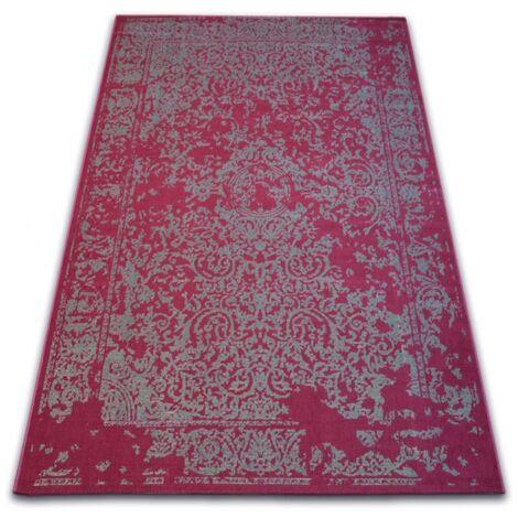 Carpet VINTAGE 22208/082 claret / grey classic rosette - 120x170 cm