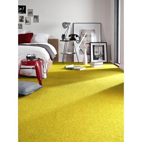 Carpet wall-to-wall ETON yellow - 100x400 cm