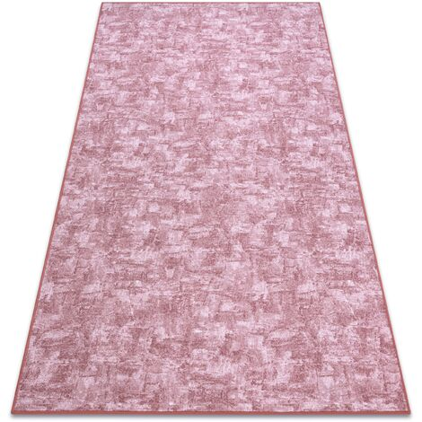 Carpet wall-to-wall SOLID blush pink 60 CONCRETE - 100x150 cm