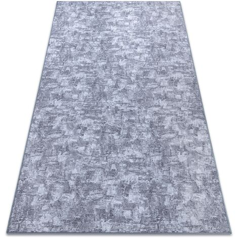 Carpet wall-to-wall SOLID grey 90 CONCRETE - 100x150 cm