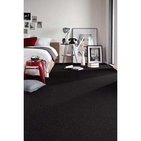 Carpet - Wall-to-wall TRENDY 159 black - 250x500 cm