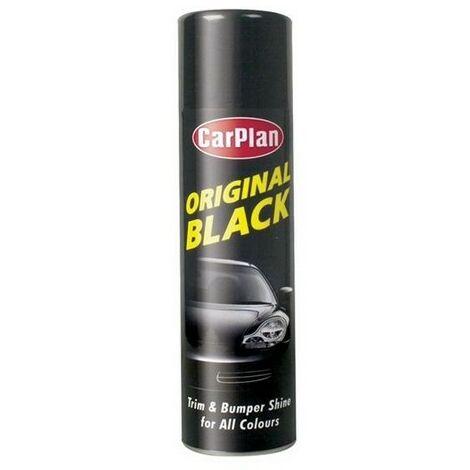 CarPlan OBS500 Original Black Trim and Bumper Shine For All Colours 500ml