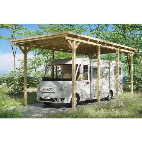 Carport Emsland Caravan 404 x 846 cm