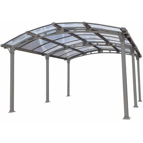 Carport en Aluminium AMILCAR 18 m²