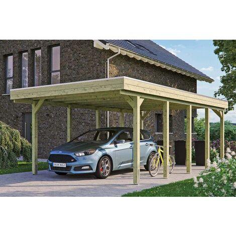Carport Friesland 397 x 708 cm + Aluminiumdachplatten