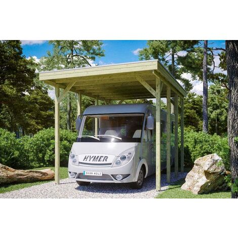 Carport Friesland Caravan 397 x 555 cm