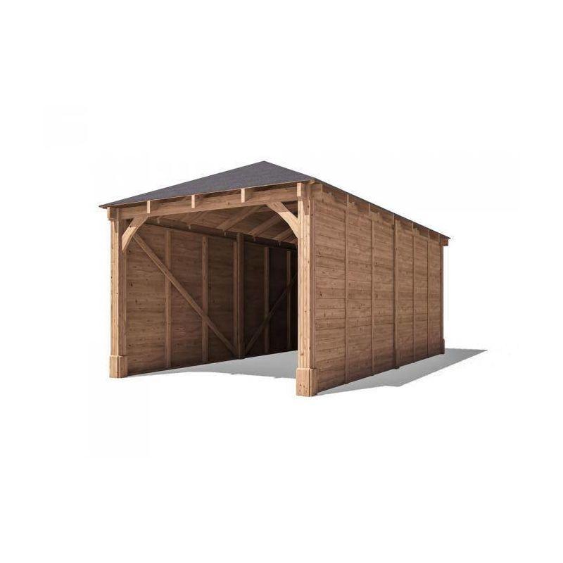 Wooden Lean To Carport Uk - Carports Garages