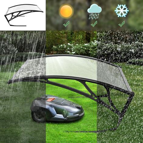 Carport para robot cortacésped   Cubierta de Garaje para Robot  - para protección contra la lluvia Toldo Canopy 100*78*50cm