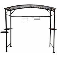Carport pour barbecue 1,80 x 1,43 x 2,24 m