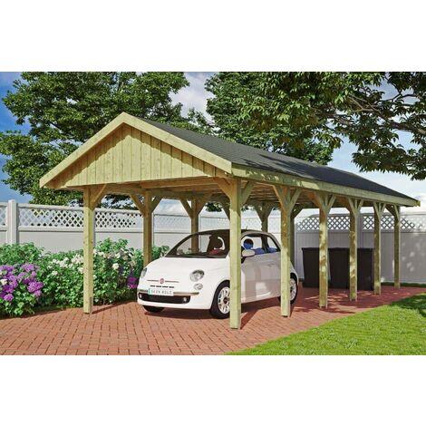Carport Sauerland 430 x 600 cm mit Dachlattung