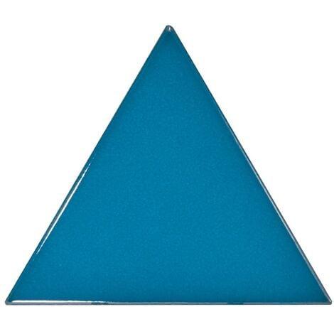 Carreau bleu électrique 10.8x12.4cm SCALE TRIANGOLO ELECTRIC BLUE - 0.20m²