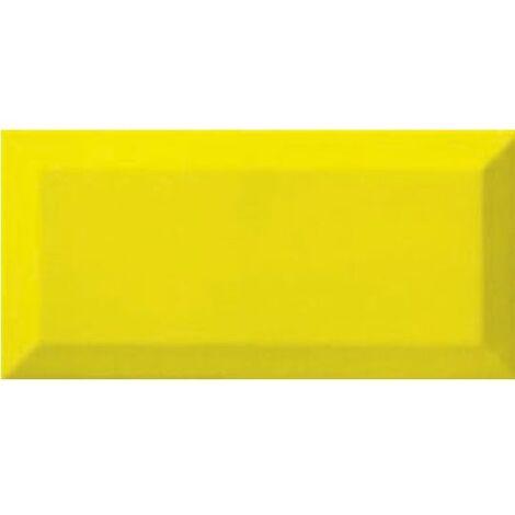 Carreau métro Jaune Limon 7.5x15 cm - 1 m²