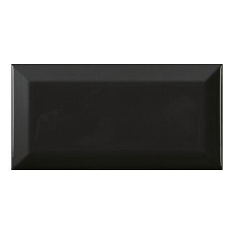 Carreau métro noir brillant 7,5 x 15 cm (boîte de 90 carreaux) - 6888769